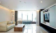공간의 기능을 업그레이드시킨 아파트 리노베이션