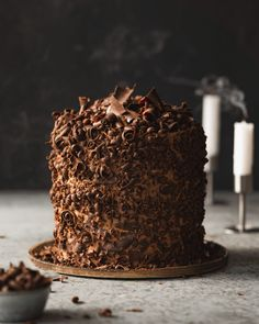 Vegan Devil's Food Cake - Epic Vegan Chocolate Cake