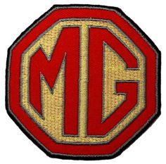 MG Sports Car Automobiles Motorsport Car Racing Team DIY Applique Embroidered Sew Iron on Patch - http://www.carhits.com/mg-sports-car-automobiles-motorsport-car-racing-team-diy-applique-embroidered-sew-iron-on-patch/ - CarHits
