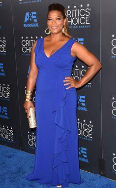Queen Latifah from 2015 Critics' Choice TV Awards | E! Online