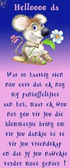 ♡ Motivational Quotes, Funny Quotes, Inspirational Quotes, Afrikaanse Quotes, Goeie More, Weekend Quotes, True Friends, Sayings, Friendship