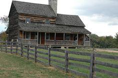 American Farmhouses | ca. 1850 American farmhouse | Flickr - Photo Sharing!