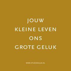 Lief gedichtje voor op jullie geboortekaartje! Kijk voor meer inspiratie op onze website: www.studiokuuk.nl #gedicht #geboortekaartje