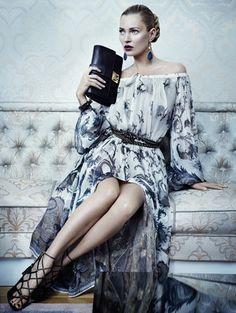 Kate Moss for Salvatore Ferragamo a/w 2012