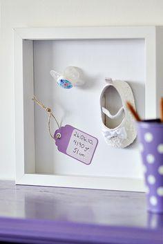 DIY - Baby Shadow Box Keepsake
