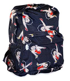 J Garden Black Betty Boop Backpack 17inch * This is an Amazon Affiliate link. Want to know more, click on the image.