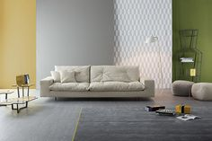 Avarit sofa / Doppler coffee tables New Collection 2015 By Bonaldo www.bonaldo.it