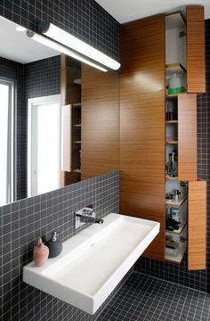 Latest bathroom wall cabinets design only on homesaholic.com