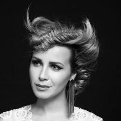 the beautiful Victoria Koblenko - hair by rachelgeerman