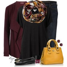 """""""Fall Scarf"""" by lagu on Polyvore"""