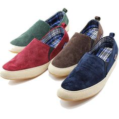Mens Canvas Casual Slip On Loafer Shoes Moccasins Driving Zapato Fashion Shoes #New #AthleticSneakers