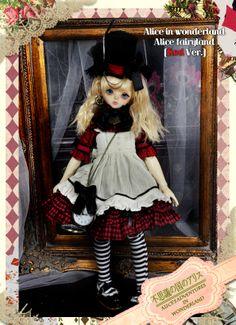 MD000177[Alice in wonderland]Alice fairyland RED Ver. [MD000177] - $109.90 : DollHeart