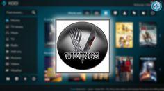 El addon Vikings en Kodi es un complemento de video en donde encontramos contenido de canales de TV, series, películas y anime. Smart Tv, Videos, Vikings, Android, Football, Graphic Design, Box, Anime, Tecnologia