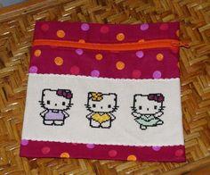 2010 - trousse brodée hello kitty offerte pour un anniversaire