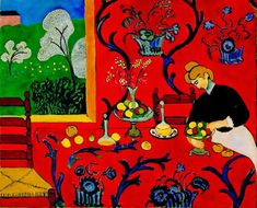 MzTeachuh: Matisse and Spring--What's Outside Your Window?