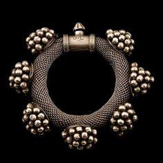 Silver Bracelet. Rajasthan. India. c. 1920