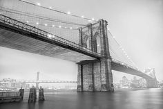 """Brooklyn bridge"" una fotografía de Javier Aranburu.  #black&white#decorativephoto#photodecoration#interiorism#americaphotography#water#fotografíadeautor#fotografíaydecoración#fotografíadeny#américafotográfica#brooklynbridge#architecture#brooklyn#bridge"