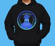 Hey, I found this really awesome Etsy listing at https://www.etsy.com/listing/247575784/steven-universe-hoodie-mirror-gem-lapis