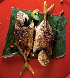 In Malaysia, this pan-fried fish dish is typically made with stingray filets, but any six to ten-inch whole fish will do. See the recipe »