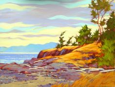 Com Art Community Amanda Jones, Nude Beach, Community Art, Strand, Scenery, Colours, Landscape, Park, Painting