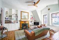"""While comedian Amy Schumer tours the country and hangs out with new BFFJennifer Lawrence, herManhattan apartmentis looking for a new owner. For $2.075 million, the person who succeeds Schumer in this intimate, 5-unit co-op will occupy the top floor and enjoy soaring ceilings, two wood-burning fireplaces and all the skylights a New Yorker could need — plus, a private rooftop oasis with a lush garden and Upper West Side views. The """"Trainwreck"""" star snagged the prime spot in this…"""