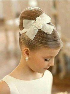 """Little girl """"dress-up"""" hair-do's."""