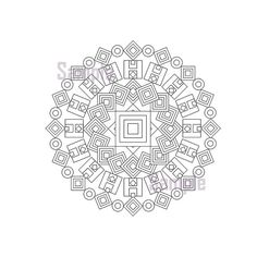 I Love To Make Mandala Style Designs Perfect For Adults Who Colour