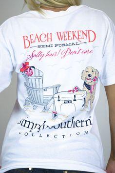 Beach Weekend Simply Southern Tee