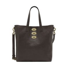 Mulberry Gift Kaleidoscope | Chocolate - Brynmore Tote in Chocolate Natural Leather