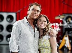 Image result for David Cassidy and daughter