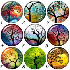 Fits your Ginger Snaps Jewelry. 20 mm Tree of Life Snap charms