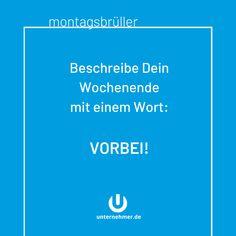 Wochentage Bayrisch