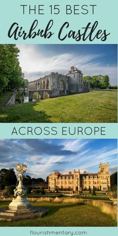 France and Italy are full of amazing airbnb castles where you can live like royalty! I found the the top 15 palaces on airbnb where you can enjoy historic living!