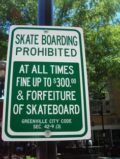Be sure to ride your cheapest board here...and have some cash.