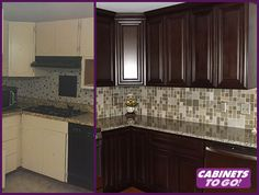 Real Renovations: Before & After Kitchen with Cabinets To Go and Lawreene Hall #kitchendesign #kitchenrenovation #kitchenremodel #designinspiration #designtrend #interiordesign