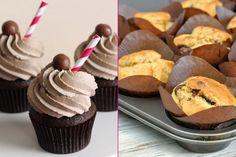 Birbirinden renkli ve süslü şekillerde hazırlanmaya olanak sağlayan, porsiyonluk kek çeşitlerinden biri olan çikolata kremalı cupcake tarifi oldukça pratik.