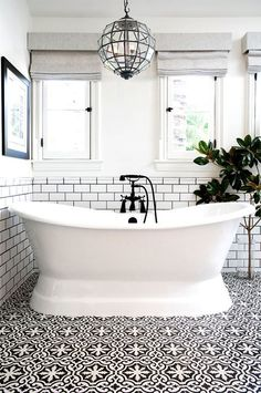 """A common mistake is using cool, decorative tile on their bathroom floors that aren't made for getting wet, which can make it really easy to slip on,"" explained the designers at Studio Life.Style...."