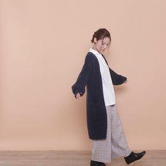 POUDOUDOU  autumn  winter collection coming soon ---------------------------------------------------- china button blouse 5900tax . . (staff model murata from shinjuku mylord) #poudoudou #pdd17aw
