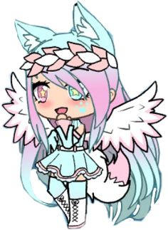 gacha life cute interesting interesting cutout me freet. Anime Girl Drawings, Cute Kawaii Drawings, Cute Anime Chibi, Cute Anime Pics, Anime Wolf Girl, Anime Art Girl, Cute Anime Character, Cute Characters, Fictional Characters