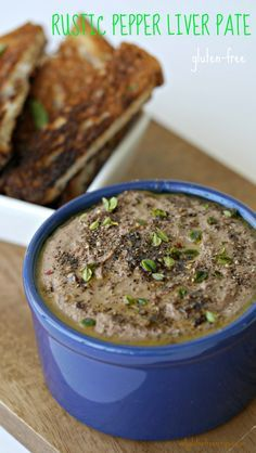 RUSTIC PEPPER LIVER PATE - GLUTEN-FREE This pepper pate couldn't be simpler to prepare and is surprisingly delicious. The flavour improves after few days of chilling.