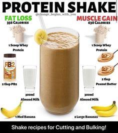 Homemade Protein Shakes, Vanilla Protein Shakes, Healthy Protein Shakes, Protein Smoothie Recipes, High Protein Recipes, Protein Foods, Lean Protein, Breakfast Protein Shakes, Muscle Milk Protein Shakes