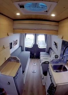 Van Conversion Interior, Camper Van Conversion Diy, Van Conversion With Bathroom, Sprinter Camper Conversion, Sprinter Motorhome, Motorhome Conversions, Mercedes Sprinter Camper, Van Conversion Bathroom, Enclosed Trailer Camper Conversion
