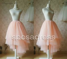 High low tulle tutu skirt for adult - Sposadress.com #tutuskirts