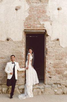 Classy Emerald and Gold Wedding at The Villa San Juan Capistrano | Il Mare Photography