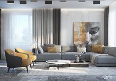 Enhance Your Senses With Luxury Home Decor Living Room Sofa, Home Living Room, Interior Design Living Room, Living Room Designs, Living Room Decor, Lounge Design, Sofa Design, Condo Design, Design Design
