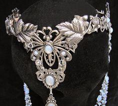 Elven Fairy Wedding Crown Circlet Diadem Tiara от AMonSeulDesir