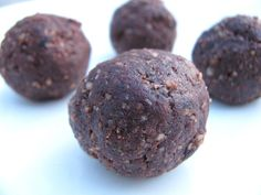 4-Ingredient Chocolate Cake Bites - mindbodygreen.com