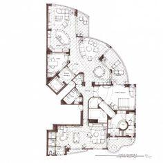 crazy floor plans   Drawings - typical floorplan