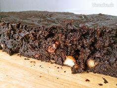 Avokádovo-banánové brownies (fotorecept)