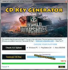 World of Warships CD Key Giveaway (Keygen)
